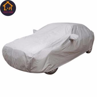 Adventurers Waterproof Lightweight Nylon Car Cover for Sedan Cars - 2