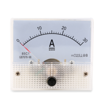 Allwin DC 30A Analog Ammeter Panel AMP Current Meter 0-30A DCDoesn't Need Shunt