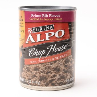 Alpo Chop House Ribeye Wet Can Dog Food 374g (6 cans / box)