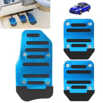 Aluminium Alloy Non-slip Pedal Foot Brake Cover for Cars - intl