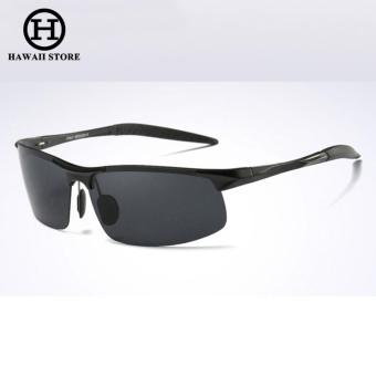 Aluminum Magnesium Alloy Polarized Sunglass For Men Outdoor Sport Driving Male Sun Glasses