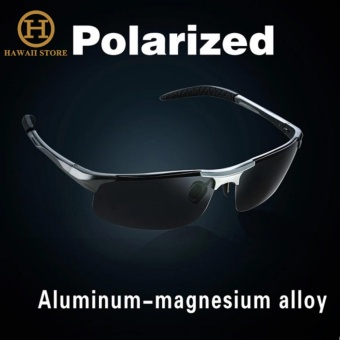 Aluminum Magnesium Alloy Polarized Sunglass For Men Outdoor Sport Driving Top Brand Designed Male Sun Glasses
