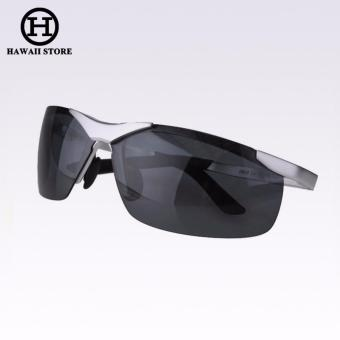 Aluminum Magnesium Alloy Polarized Sunglasses For Men Male Sport Driving Sun Glasses