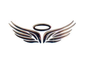 Amango 3D Angel Fairy Wings Car Sticker