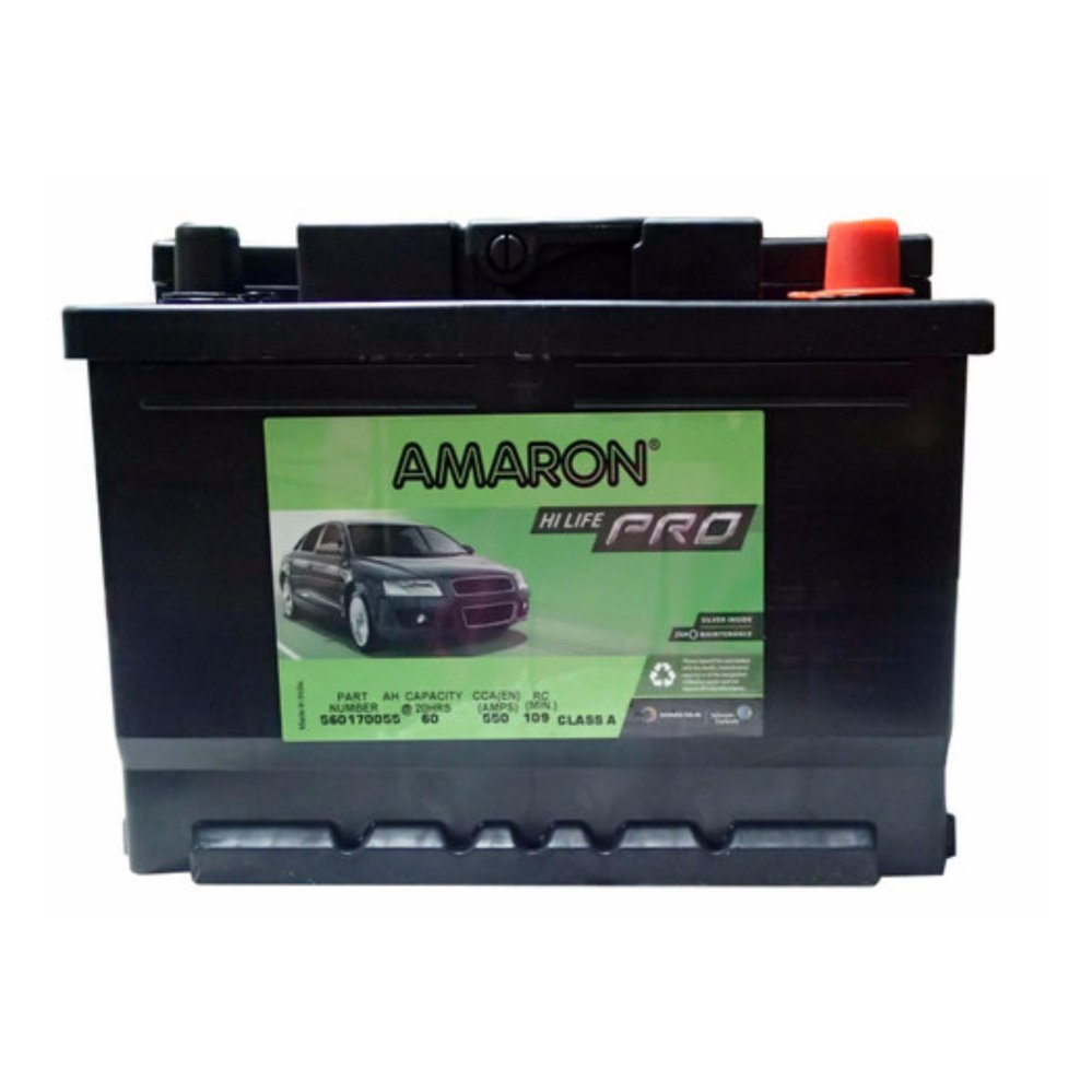 Amaron hi life pro din 60 din 55 maintenance free car battery 24 months warranty ford ecosport lazada ph