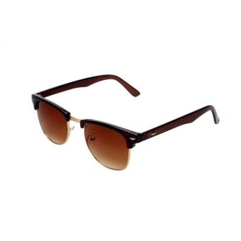Andi (Brown) - Atlas Apparel Unisex Clubmaster Sunglasses Price Philippines