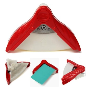 Angle Corner Rounder Paper Trimmer Punch Card Puncher Photo Scrapebooking Cutter Tool Craft DIY Clipper Round Office Stationery - intl