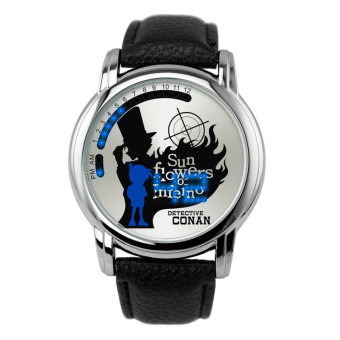 'Anime LED Touching Screen Waterproof 100M Boys'' FashionWatches(Color:CONAN)'