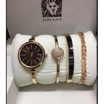 Anne Klein Bangle and Bracelet Set Gold Watch for Women Price Philippines