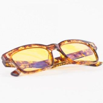 Anti-Radiation, Anti-Glare Computer Reading Eyeglasses(Brown/Animal Print) - 2