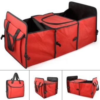 ASTV Car Trunk Organizer (Red)