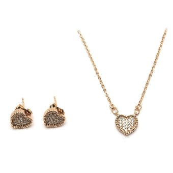 Athena & Co. 22k Be My Forever Jewelry Set (Rose Gold) Price Philippines