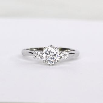 Athena & Co. 22k White Gold Plated Serena Wedding Ring Price Philippines