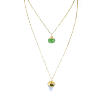 Athena & Co. Semi Precious Layered Necklace Price Philippines