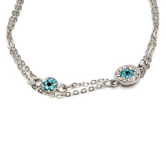 Athena & Co. Evil Eye Bracelet (Silver) - picture 2