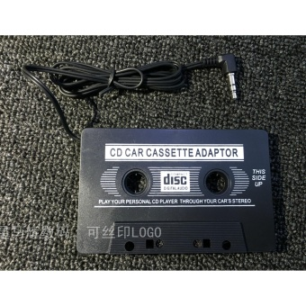 Audio AUX Car Cassette Tape Adapter 3.5 MM for IPhone IPod MP3 CD -intl