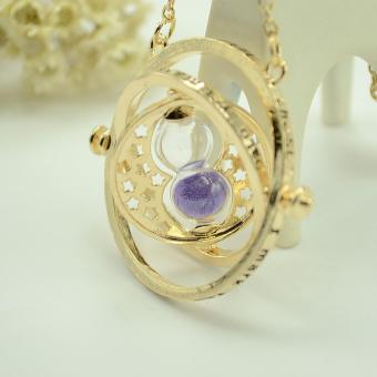 Aukey Harry Potter Time Turner Rotating Hourglass Necklace