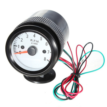 Auto Car 2inch 52mm Tacho Tachometer RPM Pointer Blue Led Gauge Meter 1000 Plus Holder Price Philippines