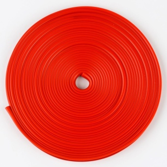Auto Car Wheel Hub Rim Edge Rubber Strip red - intl