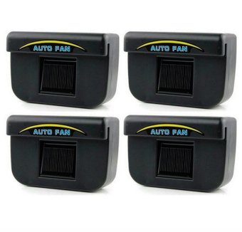 Auto Cool Solar Powered Air Cooler Ventilation Set of 4