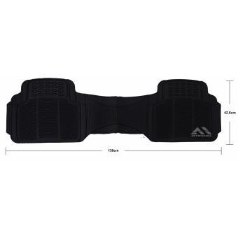 Autoform 3PC-BLK Plastic Car Mat (Black) - 4