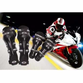 Axo Motorcycle Racing Riding Knee & Elbow Guard Pads protectorGear(BLACK) Price Philippines