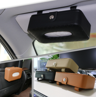 Back hanging car mounted napkin cardboard box tissue box