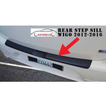 Back Stepsill for Toyota Wigo 2012 to 2016