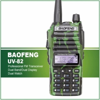 Baofeng Camouflage UV-82 Dual Band VHF/UHF Two Way Radio (Camouflage)
