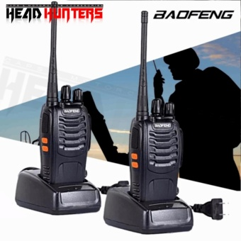 Baofeng / Pofung BF-888s UHF Transceiver Two-Way Radio Set of 2