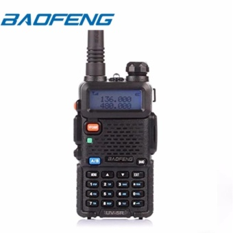 BAOFENG UV-5R Dual Band (VHF/UHF) Analog Portable Two-way Radio(Black)