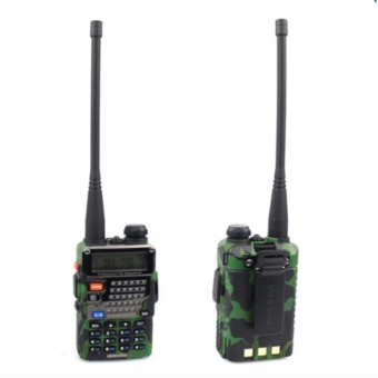 Baofeng Uv5Re Vhf/Uhf Dual Band Two-Way Radio (Camouflage)