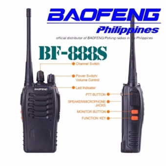 Baofeng/Pofung BF-888s UHF Transceiver Two-Way Radio set of 2 - 2