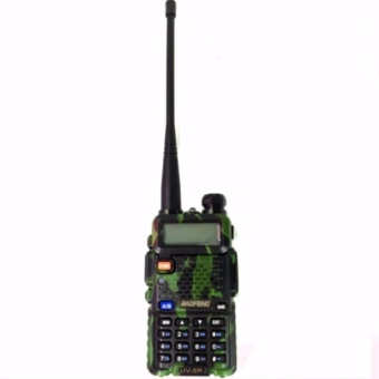 Baofeng/Pofung VHF/UHF Dual Band Two-Way Radio With Earpiece(Camouflage)UV5R