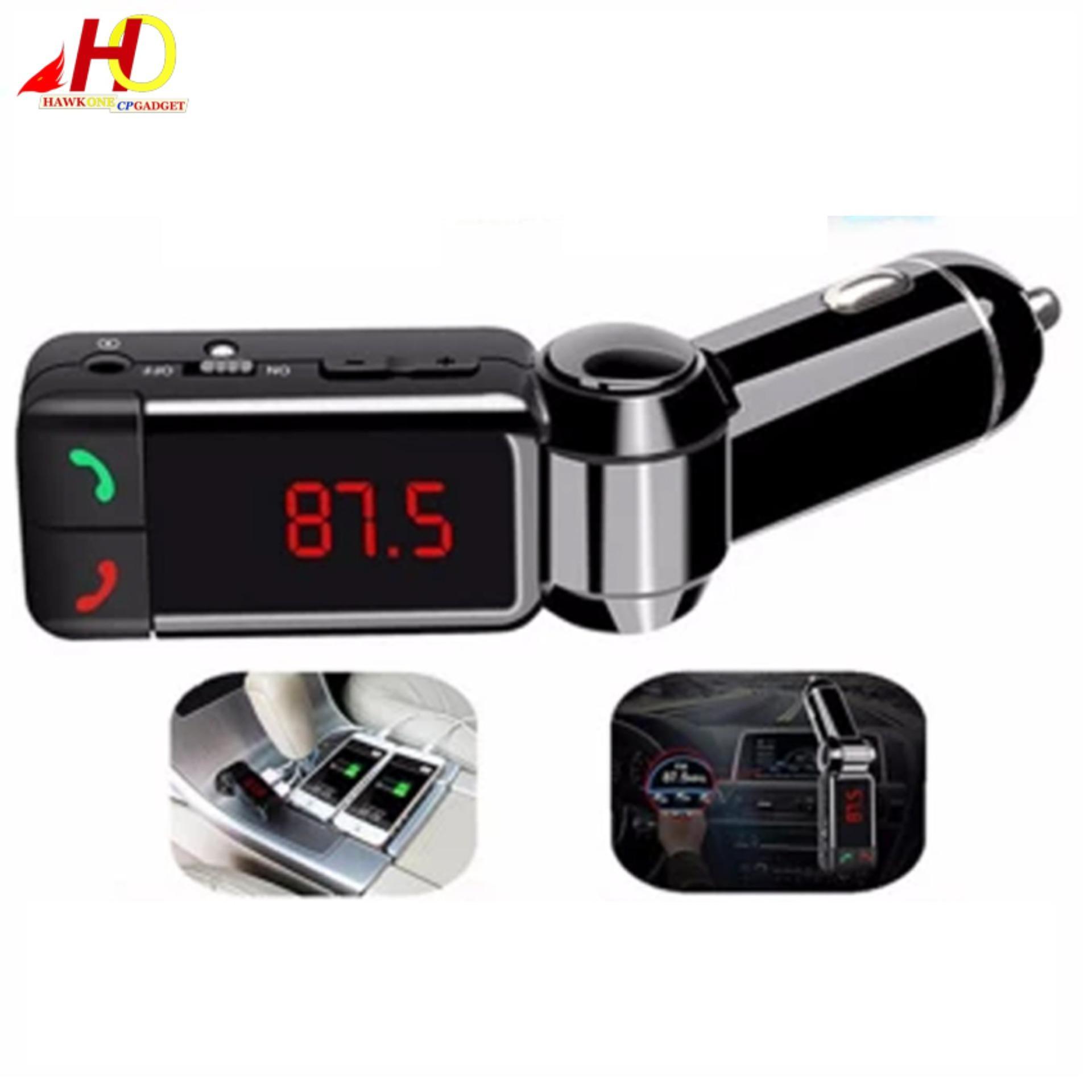 bc06 wireless bluetooth car charger fm transmitter led display modulator car kit mp3 player usb