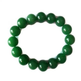 Be Lucky Charms Feng Shui Jade Big Bead Bracelet - 2