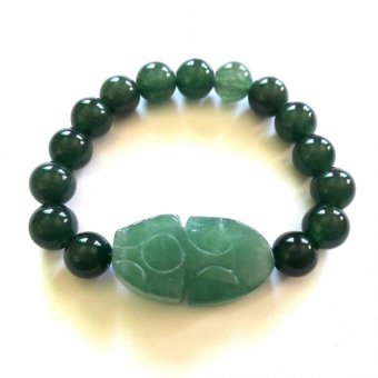 Be Lucky Charms Feng Shui Jade Money Catcher Pi Yao Bracelet