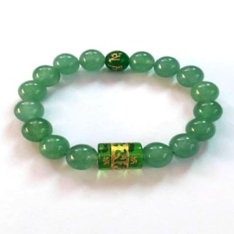 Be Lucky Charms Feng Shui Jade with Protection Mantra Bracelet