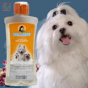 Bearing Formula 6 Tick and Flea Dog Shampoo 150ml (for White Hair)