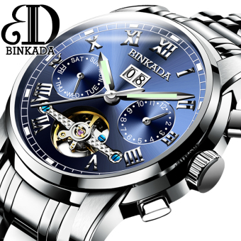 BINKADA porous waterproof male watch