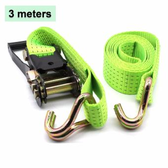 "B.I.T. Yi Qiang 3M X 5cm ( 10 ft X 2 "") Heavy Duty Cargo Ratchet Strap 5.5 tons Price Philippines"