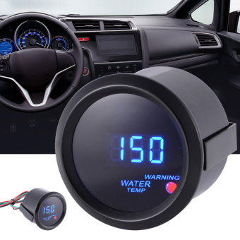 "Black 2"" 52mm Digital Blue LED Display Water Temp Temperature Gauge Meter MA920 Price Philippines"