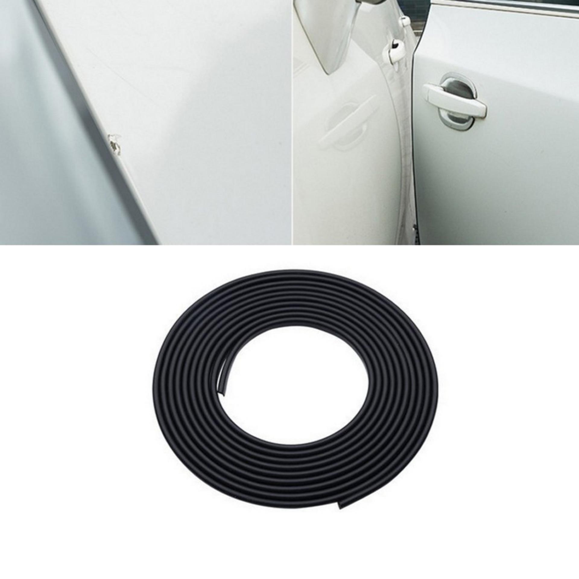 ... Black Car Door Sealing Bumper Trim Strip Scratch Protector EdgeGuard Cover Anti Wear Rubber Strip ...