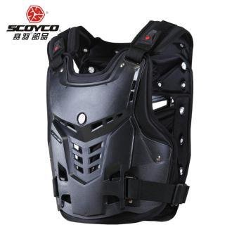 Black XL Scoyco AM05 Motorcycles Motocross Chest&Back ProtectorArmour Vest Racing Protective Body-Guard Armor