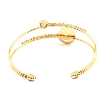 Bling Bling Alea Gold Bracelet Bangle Jewelry - 2