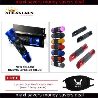 Blue Lipstick Mid Year Released Motorcyle Handle Grip AluminumHandle Bar for Yamaha Mio Sporty