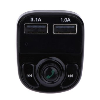 Bluetooth Car MP3 Player FM Transmitter Wireless Adapter with 2 USBPort - intl - 5