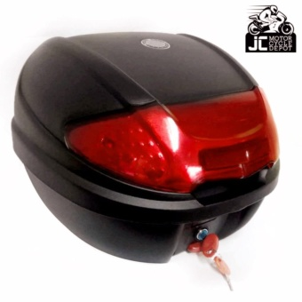BMX Motorcycle Scooter Top Box Tail Trunk Storage Luggage Givi (Red)