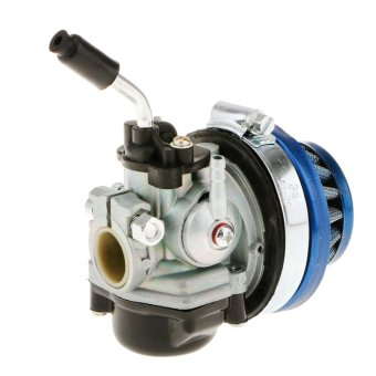 BolehDeals Racing Carb Carburetor for 49 50 60 66 80cc Motorized Bike Bicycle Blue - intl