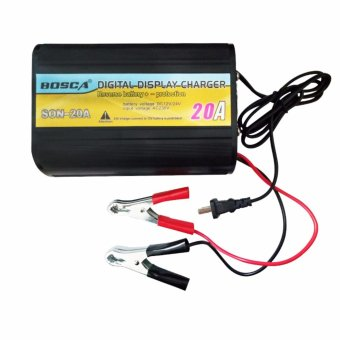 Bosca BS SON20A 24V And 12V Switchable 20A LED Digital Car Battery Charger #0124